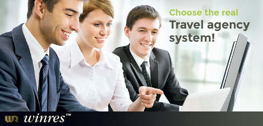 Winres - Choose the real travel agency system!