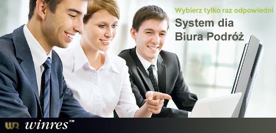 Winres - Wybierz tylko raz odpowiedni System dia Biura Podróż