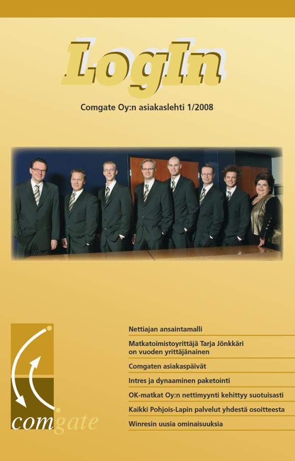Login-lehti 2008